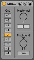 MIDI Wheels A max for live plugin