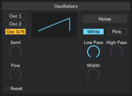 OSC 3 / Noise